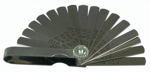 LISLE LS/68000 Mini Feeler Gauge, Pack of 6 | CD8GVH