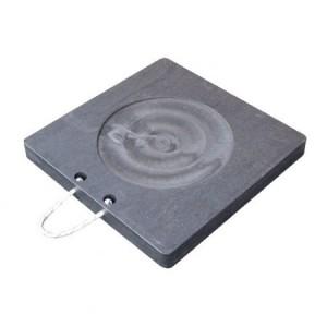 TUFFTRAK SAFET TTOS60X6BL Outrigger Pad, 600 x 600 x 60 mm   CF4EZW